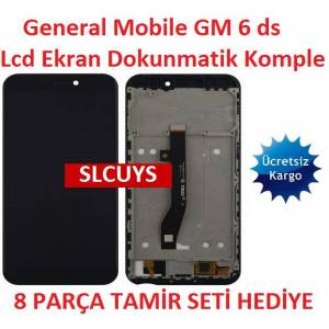 General Mobile GM 6 ds Lcd Ekran Dokunmatik Komple