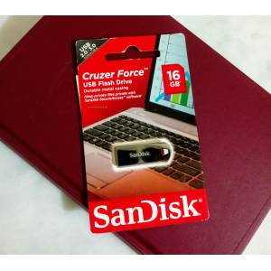 SANDISK CRUZER FORCE 16 GB USB FLASH BELLEK