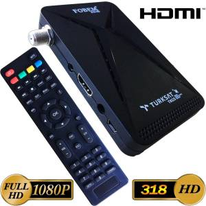 Full Hd 1080P Mini Uydu Alıcısı HDMI MP3 Audio 2019  Model Fobem