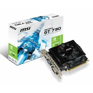 MSI NVIDIA GEFORCE GT 730 2GD3V2 2GB 128 BİT DDR3 DX(12) PCI-E 2.0 EKRAN KARTI (N730 2GD3V2)