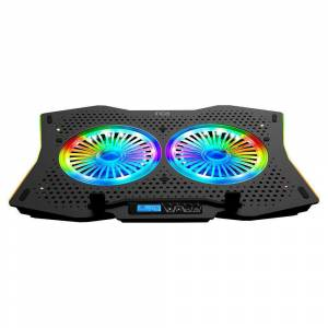 INCA GMS ARRAX II 2X RGB FAN LCD KONTROL PANEL 7 GAMING NOTEBOOK SOĞUTUCU INC-607GMS