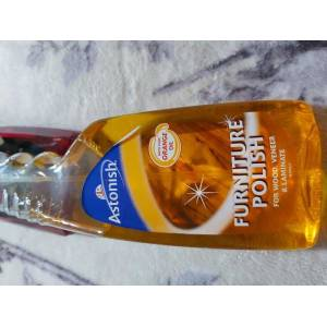 Goldensun astonish portakallı mobilya cilası 500ml