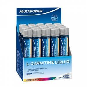 Multipower L-Carnitine Liquid Forte 1800 Mg 20 Ampül ŞEFTALİ