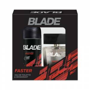 Blade Faster Man EDT Parfüm 100Ml+Deo 150Ml Set