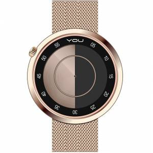 You Watch YW301 Planet Roz&Siyah Unisex Kol Saati