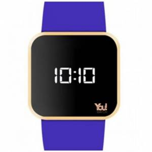 You Watch YW4006 Young Roz Blue Slim Kasa Kol Saati