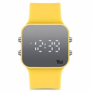 You Watch YW1005 Led Free Yellow Kol Saati