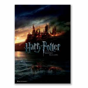 Harry Potter and Deathly Hollows  Hogwarts Afiş