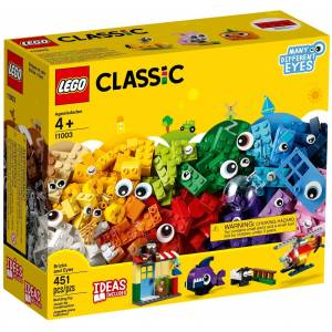 lego classic bricks 11003 Bricks and Eyes 451 parça
