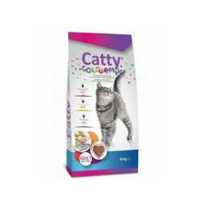 Catty Colour Mix Yetişkin Kedi Maması 15 KG