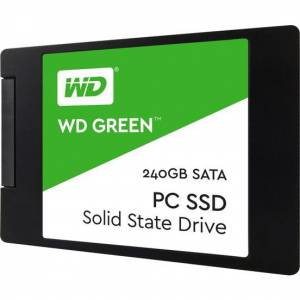 WD 240 GB 2.5 SATA3 SSD 545MB/S 3DNAND WDS240G2G0A