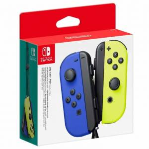 Nintendo Switch JoyCon Oyun Kolu Neon Blue Yellow Distribütör Garantili