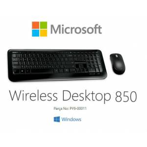 Microsoft Wireless Desktop 850 Kablosuz Klavye Mouse Set PY9-00011