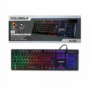POLYGOLD K9 LED GAMING KEYBOARD
