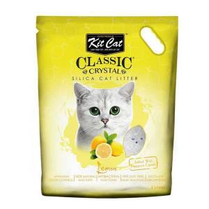 Kit Cat Limon Kokulu Silika Kedi Kumu 5Lt