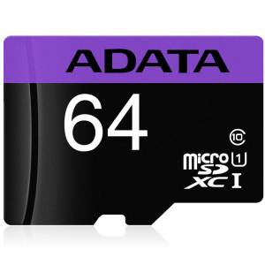 ADATA AUSDX64GUICL10RA1 64GB Premier 80MB/s Class 10 UHS-1 Micro SD Kart