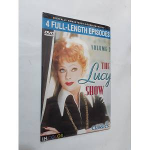 THE LUCY SHOW - VOLUME 3 - 4 FULL LENGTH EPISODES - DVD