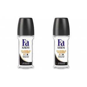 Fa Invisible Power Roll-on 50 ml X 2 Adet