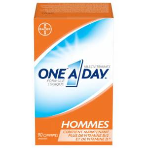One A Day HOMMES 90 Comprimes