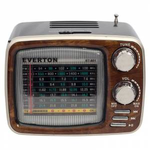 Everton RT-801BT USB-SD-FM-Bluetooth Destekli Nostaljik Radyo