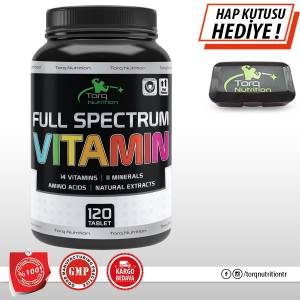 Torq Nutrition FULL SPECTRUM VİTAMİN 120 TABLET  Vitamin-Mineral