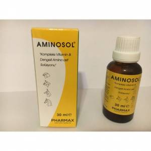 Canvit Aminosol Kompleks Vitamin 30 ml X 3 Adet