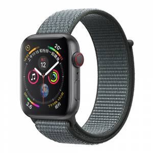 Apple Watch Kordon Dokuma Sport Loop Hasır Kayış 42mm - 44mm Seri 6 - SE - 5 - 4 - 3 - 2 - 1