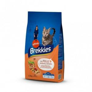 Brekkies Excel Cat Mix Tavuklu Kedi Maması 1,5 Kg