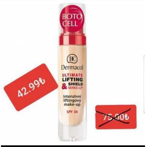 dermacol Ultimate Lifting Shield Makeup Spf 30 Fondoten BotoCell Etkili Kapatıcı