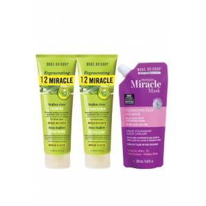 Marc Anthony 12 Miracle Şampuan 250 ml+ Krem 250 ml+ Volumizing Maske 200 ml