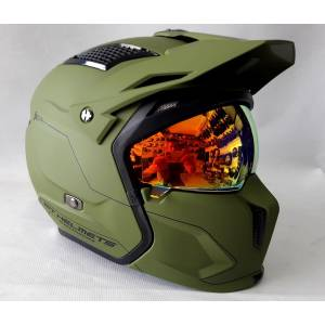Mt Kask Mt Streetfıgther SV Solıd A6 Matt Green XL