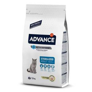 ADV XML XML CAT STERILIZED TURKEY 1,5 Kg