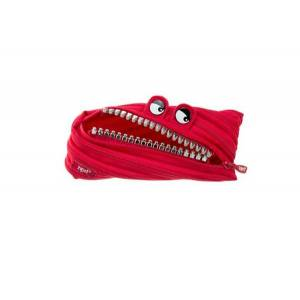 Zipit Grillz Monster Pouch Red  Zip It