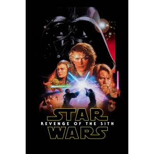 Star Wars Episode III - Revenge of the Sith (2005) 50 x 70 Poster DAVEMARKT