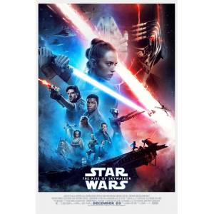Star Wars The Rise of Skywalker (2019) 50 x 70 Poster RUGARY