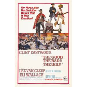 The Good, the Bad, and the Ugly (1966) 35 x 50 Poster RUGARY