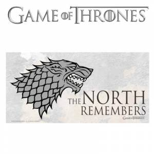 Game of Thrones: The North Remembers Glass Poster