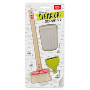 Legami Clean Up Stationery Set - Pack 10 Pcs  Legami