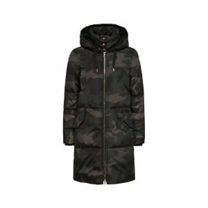 Only Haki Kadın Montu 15140793-Moonıess-Night Long Nylon Coat Otw
