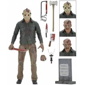 NECA Friday The 13th The Final Chapter Ultimate Jason Voorhees Figür