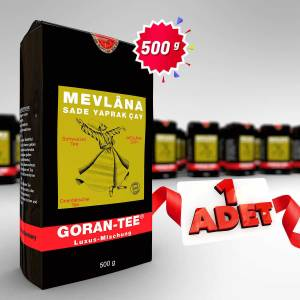ŞOK KAMPANYA ALMANYA'DAN ORJİNAL MEVLANA 500 GR SEYLAN ÇAY ÜCRETSİZ KARGO