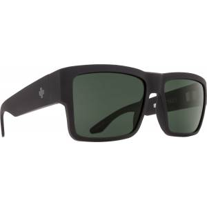 Spy+, güneş gözlüğü, SunGlasses, Cyrus Soft Matte Black - Happy Gray Green POL