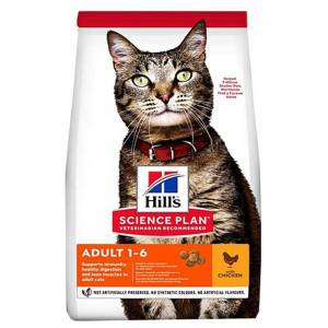 Hills Adult Optimal Care Tavuklu Yetişkin Kedi Maması 1.5 kg