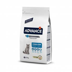 Advance Cat Sterilised Hindili 1,5Kg