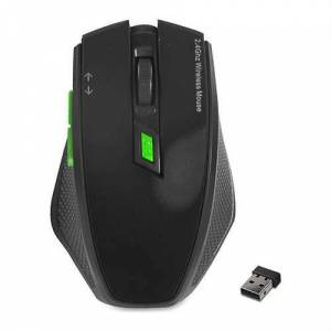EVEREST SMW-777 USB SİYAH 2.4GHZ OPTİK WIRELESS MOUSE