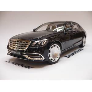 MERCEDES MAYBACH S650 MAGNETITE BLACK METALLIC bestelhobi