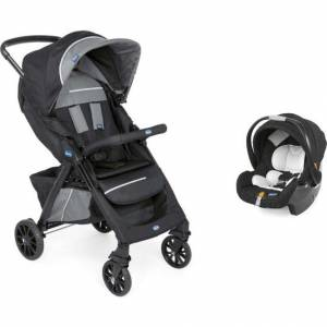 Chicco Duo Kwik One Travel Sistem Bebek Arabası / Jet Black