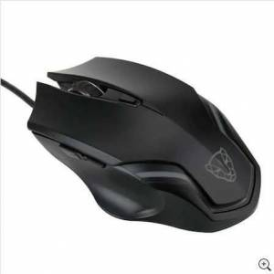 MOTOSPEED F61 LED IŞIKLANDIRMALI BLACK GAMING MOUSE ADINIZA FATURALI GARANTİLİ