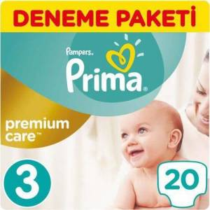 PRİMA PAMPERS PREMIUM CARE BEBEK BEZİ 5 NO 18'Lİ