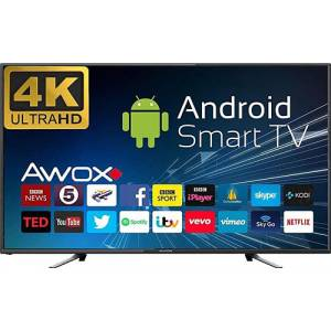 AWOX 55 İNÇ B205500S 4K SMART LED ANDROİD TV